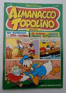 Almanacco-Topolino-329-Maggio-1984-Lire-1200-Arnoldo-Mondadori-Editore