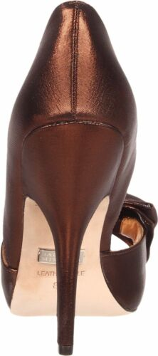 Mable Evening Formal Nib Pumpe Open Bronze Badgley 8 Sko Bow 749908505339 Mischka Heels Toe 0nx0Ea86