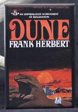 """Dune Book Cover 2"""" X 3"""" Fridge / Locker Magnet. Frank Herbert"""