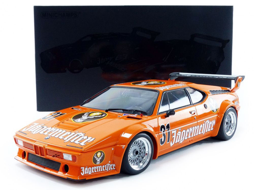 MINICHAMPS 1982 BMW M1 DRM NURBURGRING EIFELRENNEN 1 12 Large Car Brand New