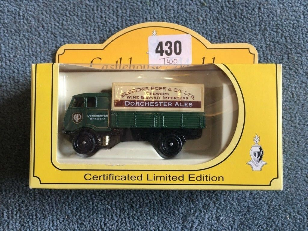 Castlehouse models 1930's Sentinel S4 Steam Wagon - Dorchester Brewery - V. Rare