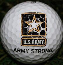 3 Dozen Callaway Mint AAAAA (U.S Army Strong Logo) USED Golf Balls