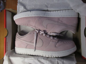 the best attitude 66975 9df15 Image is loading Nike-Dunk-Low-904234-603-PINK-Red-White-