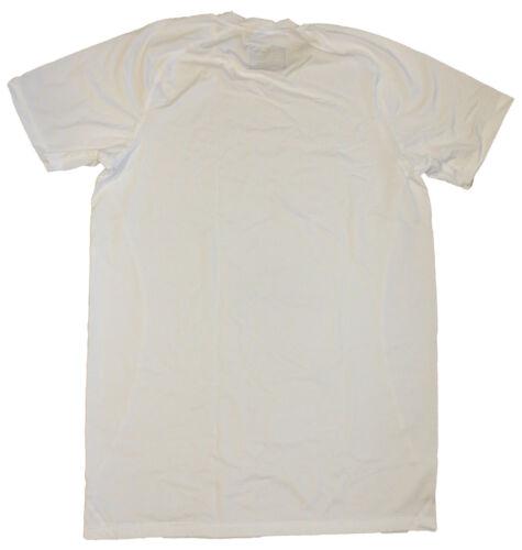 White Uomo shirt Intimo Lotto Men's Tech Underwear T Bianca Sport Maglietta HwwR8d