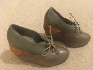 gris de cuña All encaje con Zapatos corte Saints de 37 de 4 xYqwTWdg