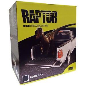 Upol Raptor Black 4x Liner Kit Tough Urethene Coating Bedliner Spray Paint U-pol
