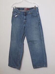 Levi Jeans Made In Mexico Inv #f3321 Herren Größe 31/26 Gemessen