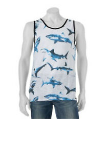 Men-039-s-Ocean-Current-Shark-Tank-Top-White-Small