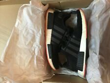 799ca931da31f Adidas Originals NMD R1 Carbon Trace Black Scarlet Red CQ2413 Boost Men s 12