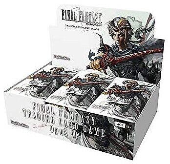Final Fantasy TCG  Opus 6 Booster Box Square Enix BRAND NEW ABUGames