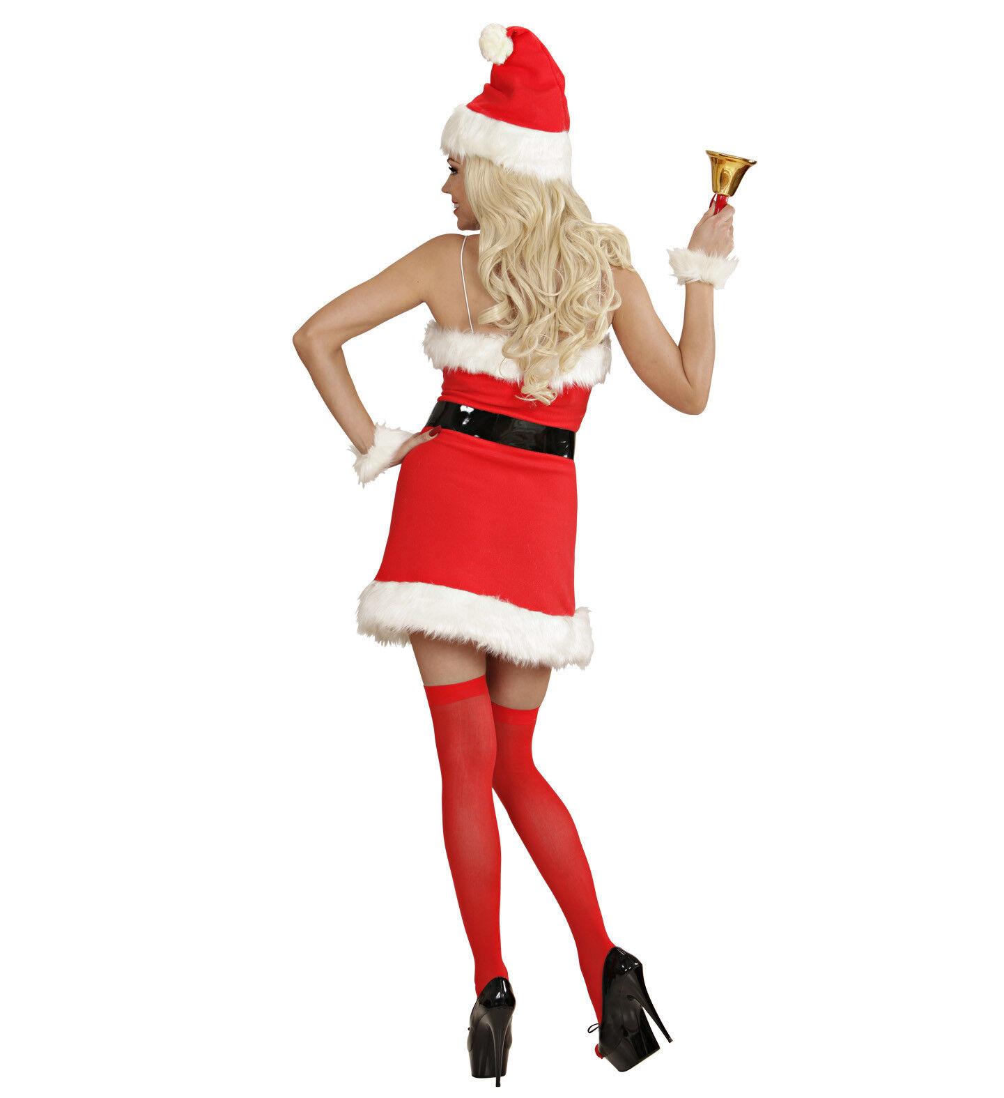 SEXY WEIHNACHTSFRAU KOSTÜM & MÜTZE Weihnachtsmann Damen Nikolaus Nikolaus Nikolaus Frau Kleid 1539 | Klein und fein  | Heißer Verkauf  | Nutzen Sie Materialien voll aus  eb2261