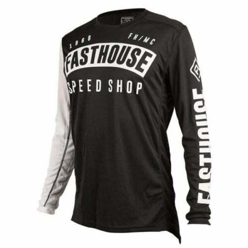 Fasthouse Adults Mens FH Block L1 Motocross MX Bike Top Jersey