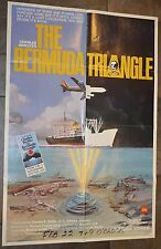 """1978 Movie Poster  THE BERMUDA TRIANGLE  Original 1-Sheet 27x41"""" charles berlitz"""