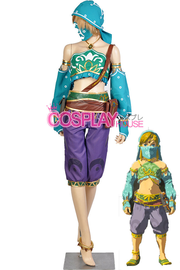 The Legend of Zelda - Breath of the Wild Link Costume Version 04 - Gerudo Outfit