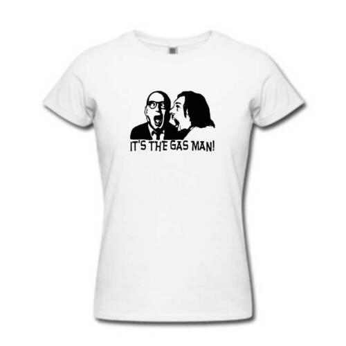 Womens British TV Series Cult Rik Mayall Gift Gasman GAS MAN Bottom Tshirt