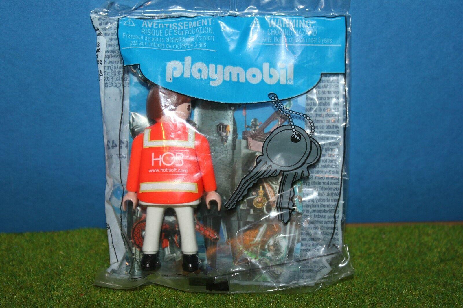 Playmobil    HOB  Schlüsselanhänger   Promo Werbefigur Neu OVP Keyring