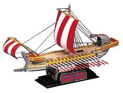Toys & Hobbies Apprehensive Aoshima Greek Warship 100bc Historical Sailing Ship Model Kit Distinctive For Its Traditional Properties