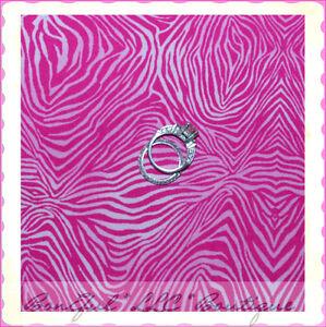 BonEful Fabric FQ Cotton Pink Zebra Tone GIRL Shade Skin