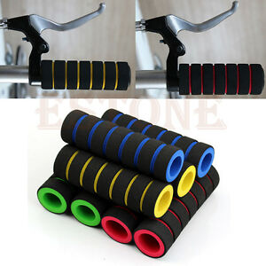 1-Pair-Bike-Racing-Bicycle-Motorcycle-Handle-Bar-Foam-Sponge-Grip-Cover-Nonslip