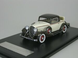 Buick-Series-Sixty-Six-66-S-SPORT-Coupe-1933-Beige-Brown-1-43-Neo-46775-New