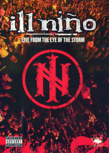 ILL-NINO-LIVE-FROM-THE-EYE-OF-THE-STORM-DVD-2004-LIKE-NEW-EXCELLENT-COND