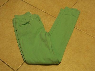 Vanilla Star Girls Pants Skinny Jeans Mint Green Size 10 Adjustable Waist Jeans