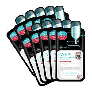 MEDIHEAL-W-H-P-White-Hydrating-Charcoal-Mineral-Mask-10-Pcs-K-Beauty