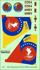 SUKHOI Su 30 VENEZUELAN AF 200TH ANNIVERSARY MKGS #72042 1/72 MODELMAKER