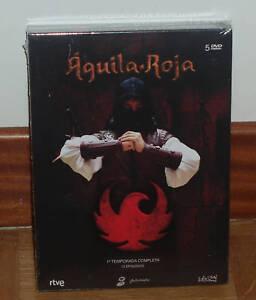 AGUILA-ROJA-PRIMERA-TEMPORADA-COMPLETA-5-DVD-SERIE-NUEVO-NEW-SEALED-SIN-ABRIR