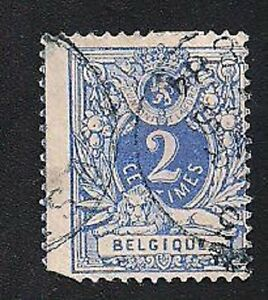 Belgium Stamp Scott 29 A7 2c Used Lh 1869 70 Ebay