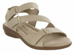 Details about Mia Women s NEW Torino GGA2379 Cream Vintage Lizard Sandals  Sizes 24da9c91a