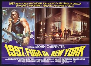 Fotobusta-1997-Flucht-Von-New-York-John-Carpenter-Kurt-Russell-Lee-Van-Cleef-A
