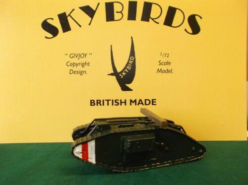 WW1 Hembra Mk IV Tanque. Skybirds Models