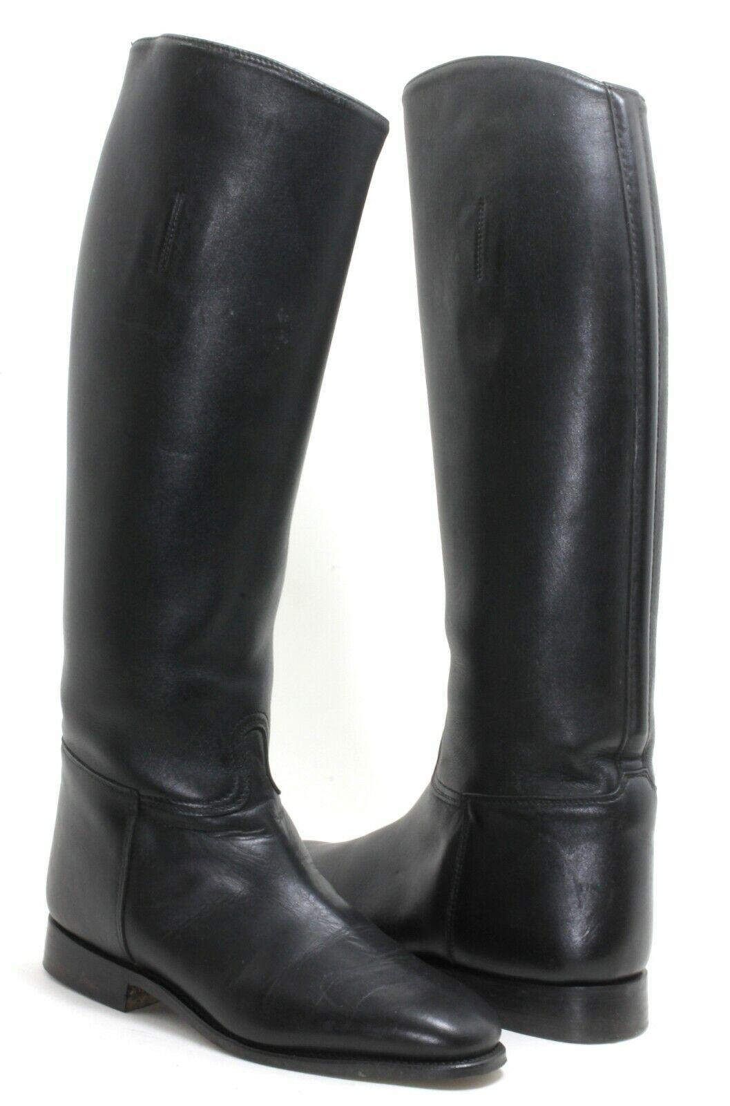 Dressurreitstiefel Reitstiefel Stiefel black Leder Königs 3589 5 2 93