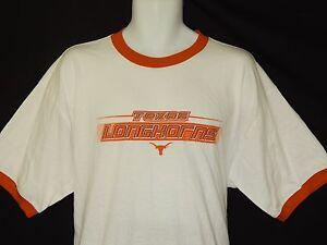 NEW-University-of-Texas-Longhorns-Short-Sleeve-T-Shirt-Top-Men-039-s-Size-L-Large