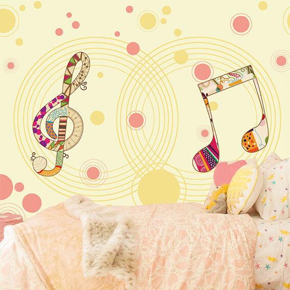 3D Music Paint 408 Wallpaper Murals Wall Print Wallpaper Mural AJ WALL AU Kyra