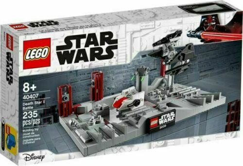 LEGO DISNEY STAR WARS 40407 Death Star 2 battaglia possono 4th NUOVO SIGILLATO GRATIS