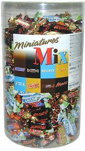 MINIATURES-MIX-3000g-Miniatur-Mini-Riegel-Mars-Snickers-Twix-Bounty