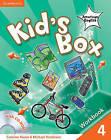 Kid's Box American English Level 4 Workbook with Cd-rom by Michael Tomlinson, Caroline Nixon (Mixed media product, 2011)