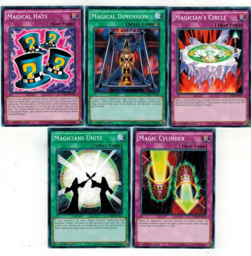 Unite LDK2 Set 5 Magic Cylinder Magical Dimension Hats Magician/'s Circle