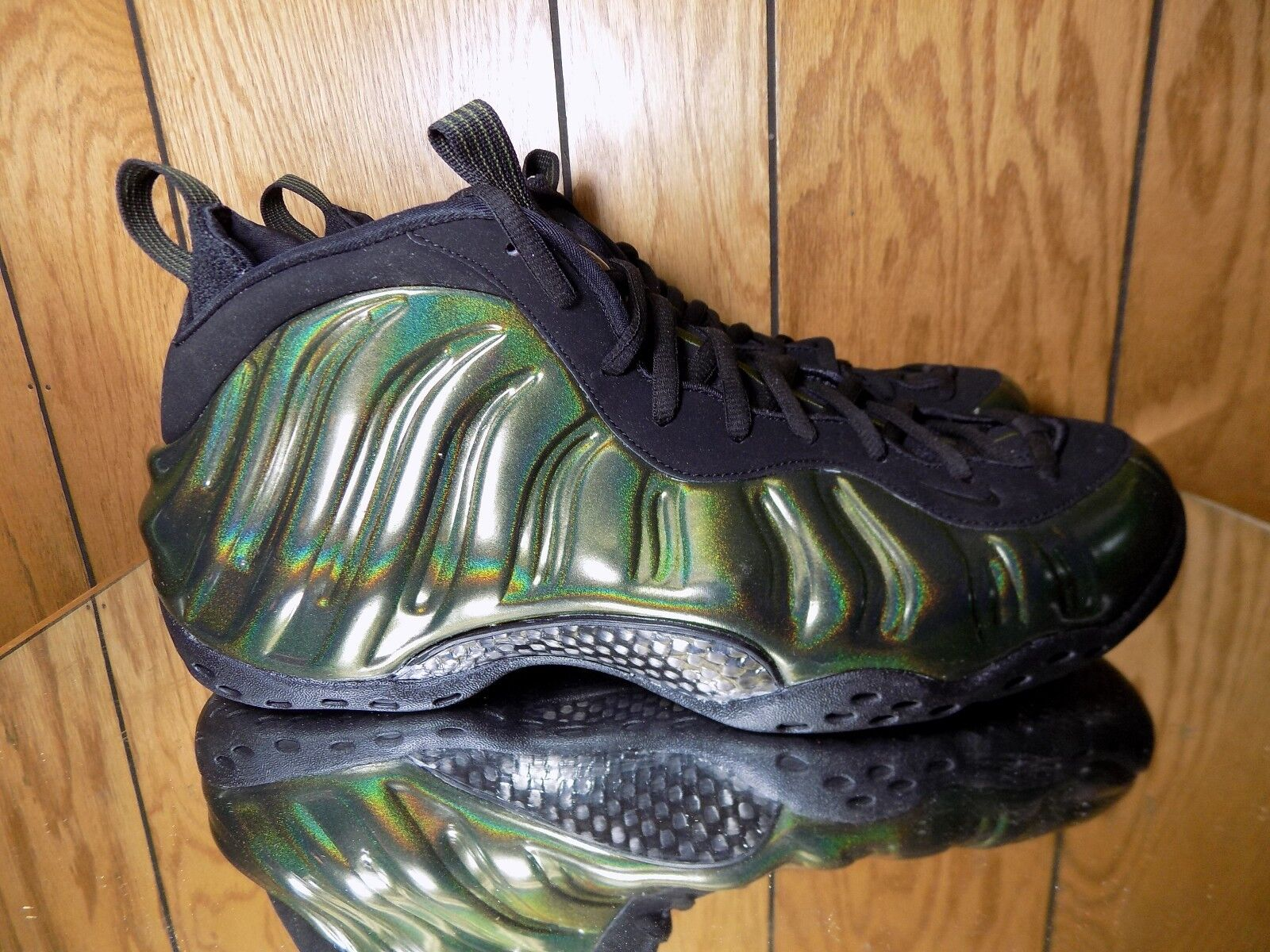 Nike Air Foamposite One Legion Green Black 314996 301 Size 14