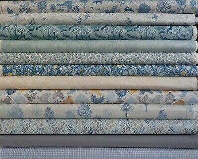 Crafts Woodland Creatures cotton fabric Makower various lengths,Sewing