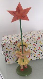 Blumenmädchen Blumenkind OVP Fa. Blank Erzgebirge - Pöcking, Deutschland - Blumenmädchen Blumenkind OVP Fa. Blank Erzgebirge - Pöcking, Deutschland