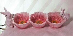Maxcera-3-Section-Dip-Bowl-Platter-Easter-Bunny-Designer-Spring-Collection-16-5-034
