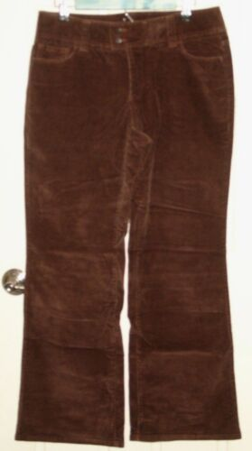 Dockers Womens Size 10 (32x31) Brown Boot Cut Cord