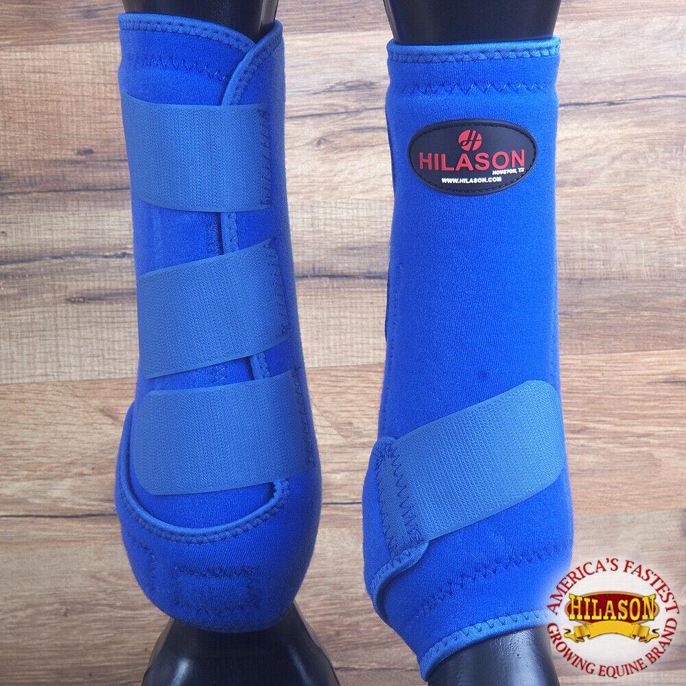 Hilason Infra Tech Horse Medicine Sports stivali Rear Hind Leg U0ROY