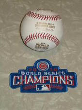 Rawlings 2016 World Series MLB Official Game Baseball - Boxed,  PLUS Cubs Patch