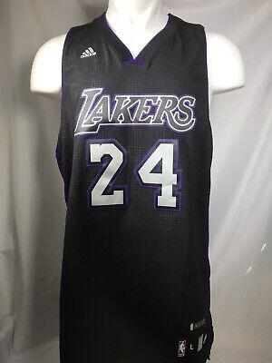 RARE Kobe Bryant #24 Adidas Lakers Jersey Black Mamba ...