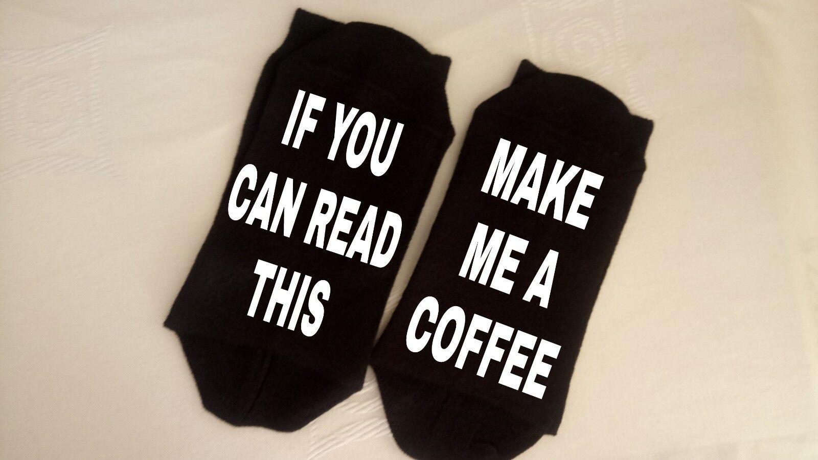 Coffee socks. funny socks. gift socks. groom mum. Nan fathers day