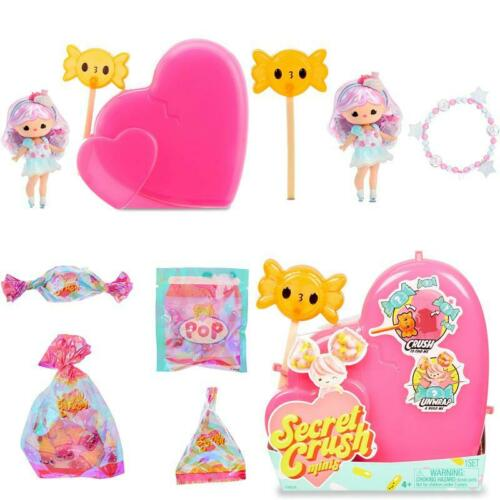 Sweet Themed Mini Doll Secret Crush Collectible Heart Shaped Package Accessories